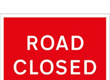 - Road Closures 19th July & 23rd August